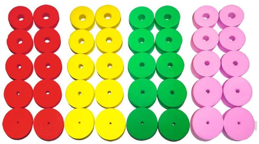 Knitting Needle Point Stoppers by ZH