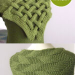 Braided Celtic Knot Scarf