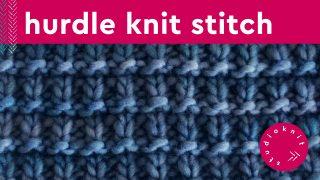 Hurdle Knit Stitch Pattern
