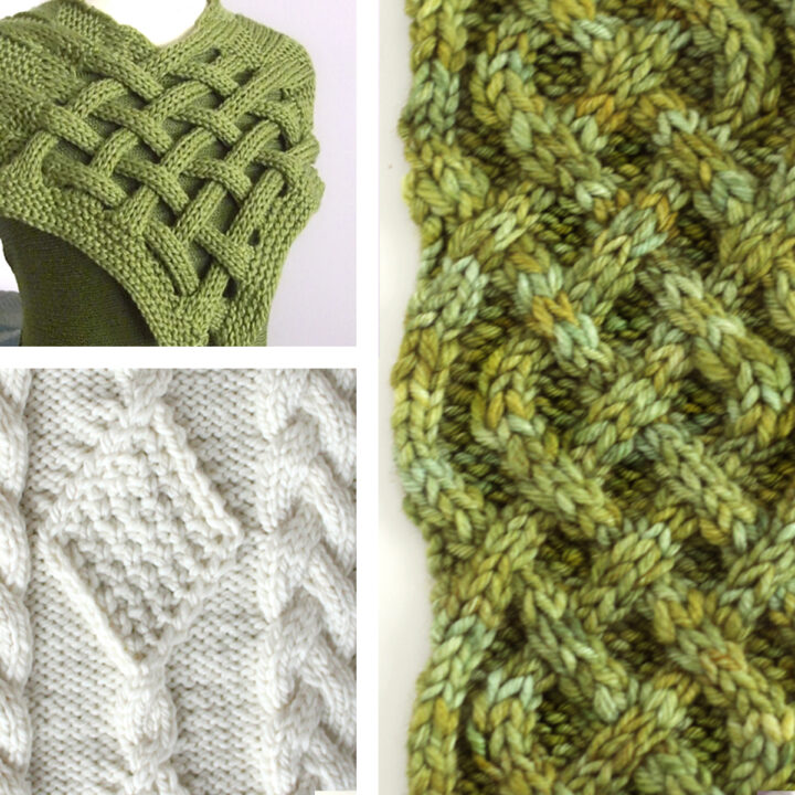 Collection of Celtic Cable Knit Stitch Patterns